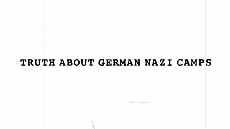 Words Matter - German Nazi Camps