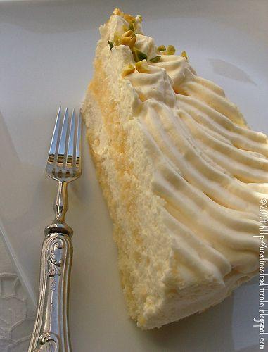 Torta tiramisù al limone