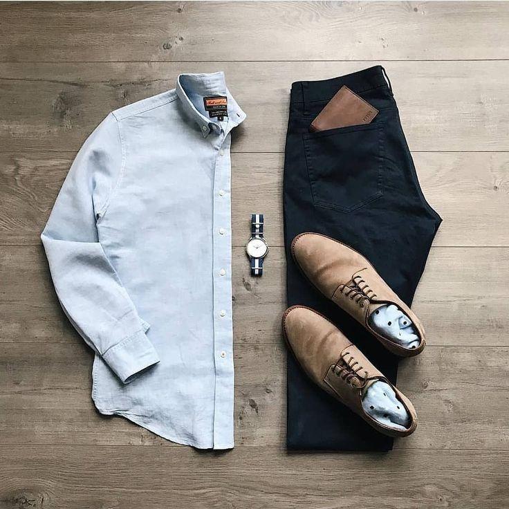 Regrann von @stylishgridgame – Solide Grundlagen in diesem #Stylish Grid von @lahmansbeard Shirt = #BallAndBuck Chinos = #FlagAndAnthem Shoes = #MyTrask Socks = #GentlemansBox Watch = #Fossil – #regrann # stylisch #stilgrün #fitgrid #mode # mensfashion # styleformen # lookbook # dailylook # stiefel # mensboots # outfitoftheday # whatiworetoday # ootd # wiwt # zubehör # schuhe # mensshoes # flatlay
