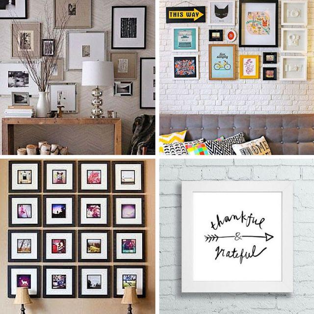 Decor | 40 ideias para decorar uma parede utilizando molduras