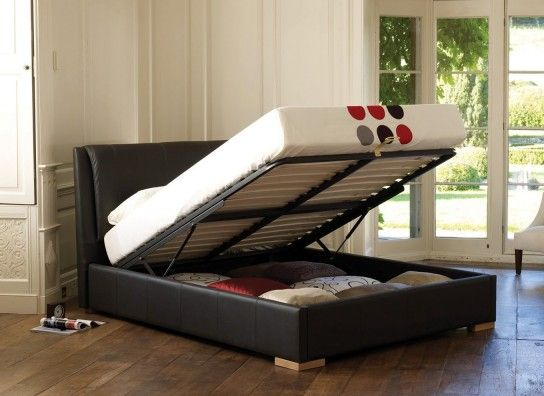 Ottoman Storage Bed In Black Or Grey Category Home Garden Bedroom Enjoy A Great Nights Sleep On This Fabulous Multifunctional Frame