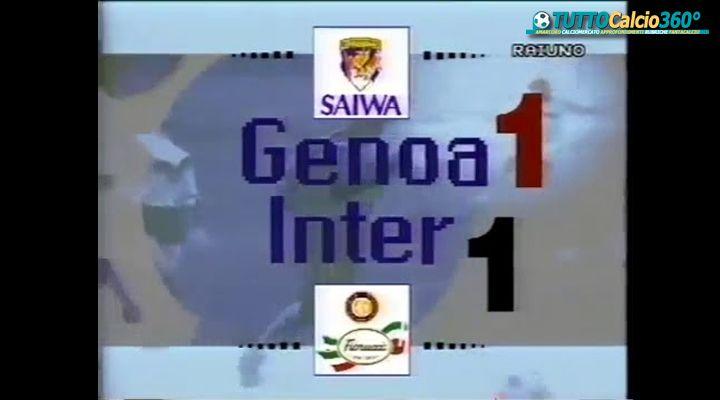 35G SERIE A - MI RICORDI IN MENTE | GENOA - INTER 1-1 (1992/93)