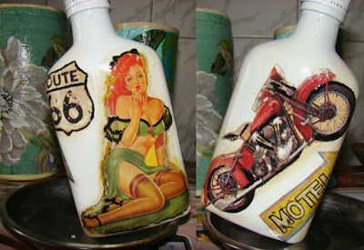 myhandmadebottle: Route 66 si o pin-up girl