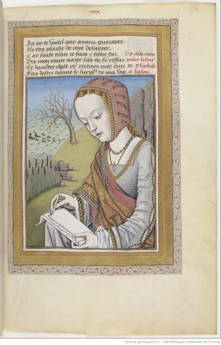 Ovide , Héroïdes ou Epîtres , traduction d' Octavien de Saint-Gelais, f°30r - Lettre d'Hypsipyle à Jason