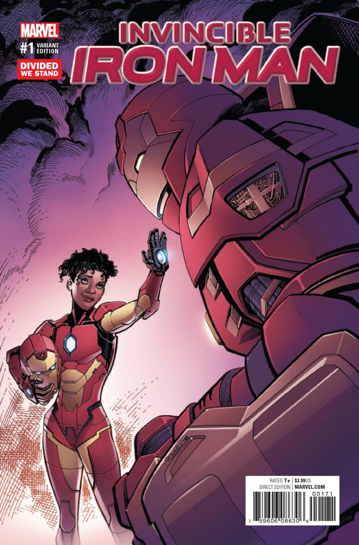 From the violent streets of Chicago, a new armored hero rises! Clad in her very own Iron Man armor, Riri Williams is ready to show the Marvel Universe what she can do as the self-made hero of tomorrow