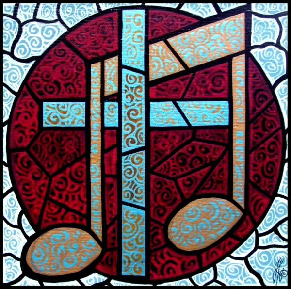 Music on the Cross by Jim Harris