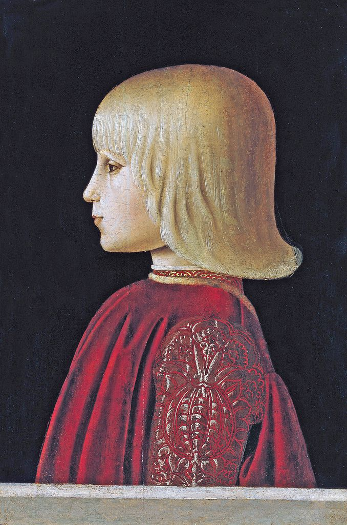 Born 1472 in Gubbio, he succeeded his father Federico da Montefeltro as Duke of Urbino in 1482.  Guidobaldo married Elisabetta Gonzaga, the sister of Francesco II Gonzaga, Marquis of Mantua. Guidobaldo was impotent, and they had no children, but Elisabetta refused to divorce him.  He fought as one of Pope Alexander VI's captains alongside the French troops of King Charles VIII of France during the latter's invasion of southern Italy; later, he was hired by the Republic of Venice again...