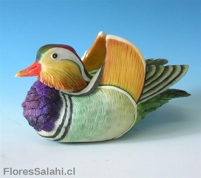 Pato mandarín. | Flores Salahi