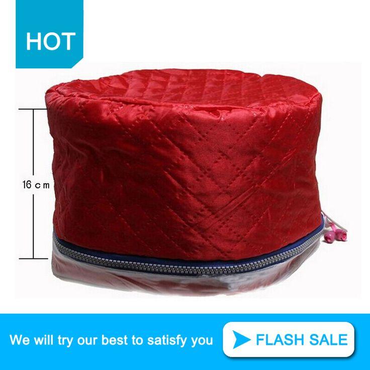 Hot cabelo térmica tratamento de beleza Steamer SPA Cap de evaporação aquecimento estilo de três engrenagens lavável elétrica chapéu MF00203 alishoppbrasil
