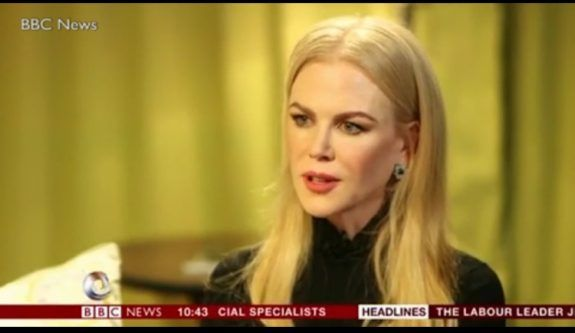 Hollywood A-Lister Nicole Kidman Says It's Time To Support Trump (VIDEO)