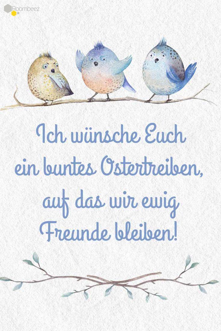 #Ostern #Sprüche #Grüße » Diesen und weitere süße Ostergrüße gibt es auf ROOMBEEZ ♥