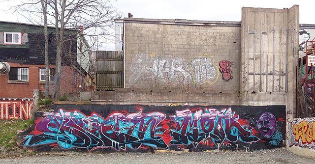 De back'a Gottingen #halifax #halifaxstreetart #graffiti
