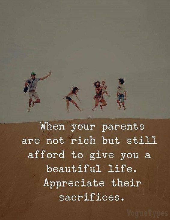 When Your Parents Are Not Rich Parents Quotes Voguetypes Love Your Parents Quotes Parenting Quotes Parents Quotes Funny
