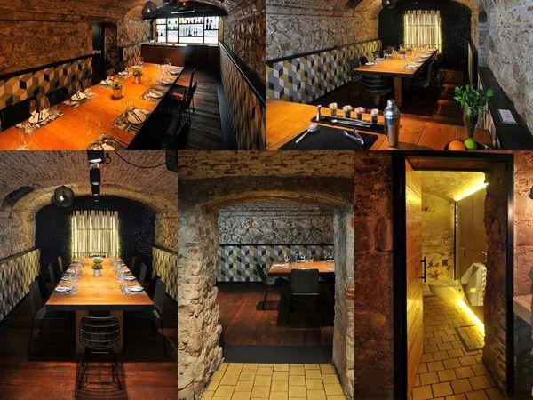 16 mejores im genes sobre suelos y paredes restaurantes - Decoracion de restaurantes rusticos ...