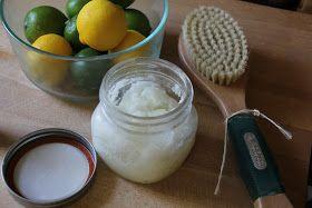 Coconut Lime Sugar Scrub & A Shaving Technique For Soft Silky Legs
