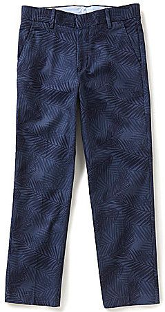 Class Club Big Boys 8-20 Tropical Leaf Print Pants