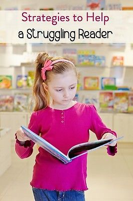 Help! My Child is Struggling with Reading! Learn what to do and what not to do to help your struggling reader. #spon @ebay
