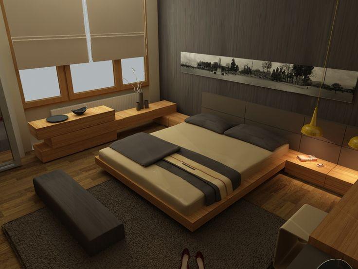 Team Project İstanbul FLORYA House - Rezidans Yatak Odası İç Tasarım Mimarlık Firması