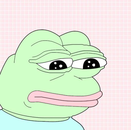 pepe-leaker: When you see a good meme but you have an aesthetic blog