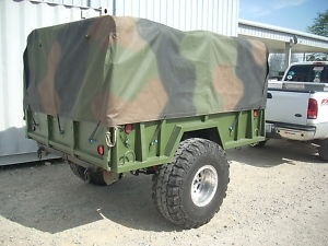 Amazing M101A2 34 Ton Military Trailer  Camper  Forums Forums  Off Topic