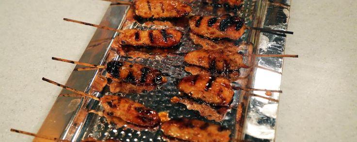 Tangerine Chicken Skewers Recipe | The Chew - ABC.com