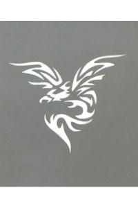 Stargazer - Tattoo Schablone - Phoenix Tribal
