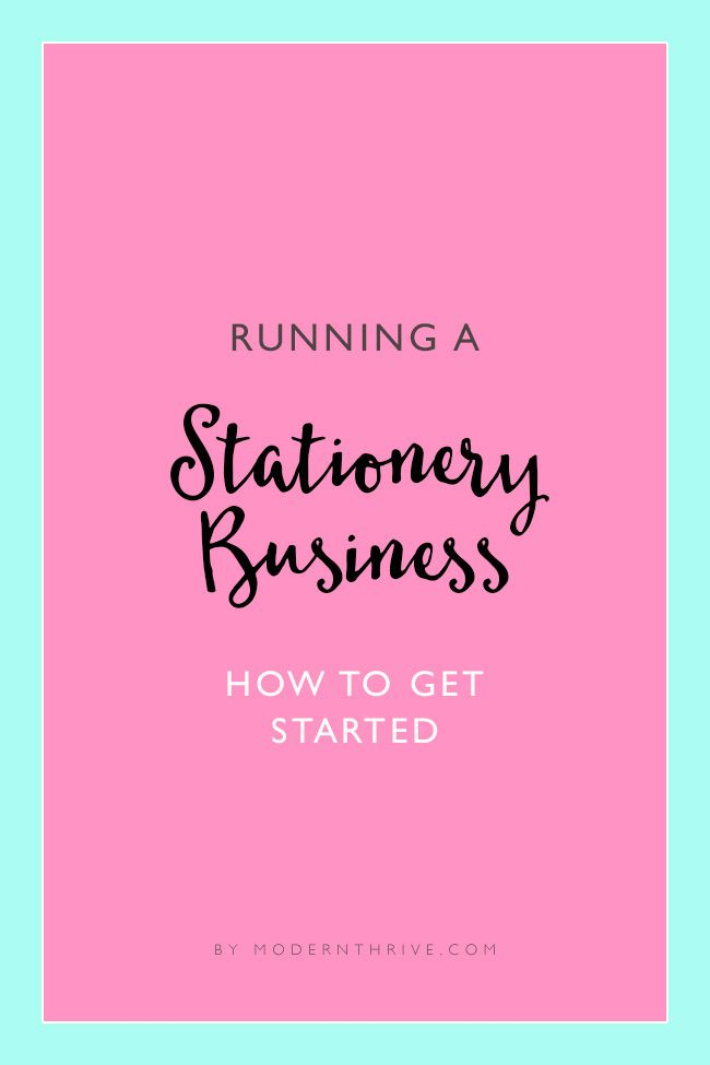 Dream of opening a stationery business but don't know where to start? Don't worry, Modern Thrive will show you how!