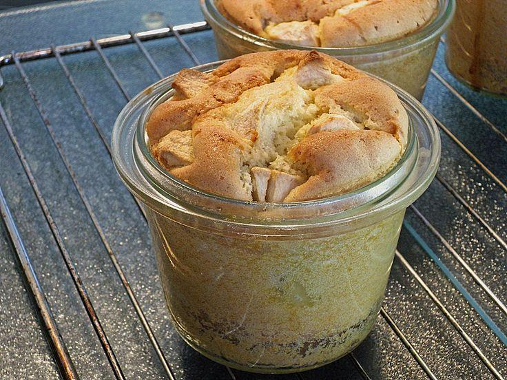 Apfelkuchen im Glas, ein tolles Rezept aus der Kategorie Winter. Bewertungen: 33. Durchschnitt: Ø 4,3.