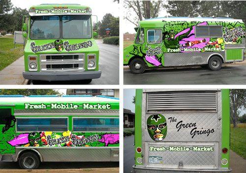 The Green Gringo in Boulder, Colorado    #food #truck #foodtruck