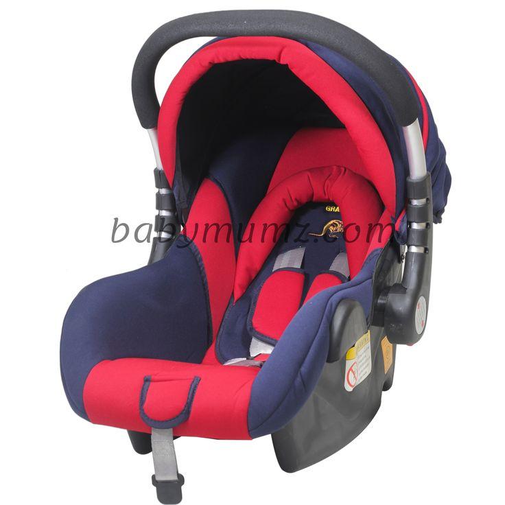 كرسى السيارة للاطفال هزاز وثابت مصمم بيد من الالمنيوم احمر Baby Car Seats Car Seats Baby Car