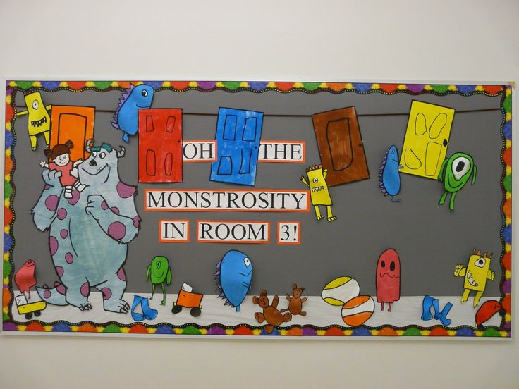 Monster Classroom Decor : Oh the monstrosity monsters inc classroom decor