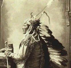 Chief Rain In The Face was a Hunkpapa Lakota, born around 1835 near the forks of the Cheyenne River in present-day North Dakota. According to his own testimony, he first received the name as a result of a boyhood fight in which blood smeared his face paint, much as rain. Another version, popular among whites, told that as an infant he was left in a storm long enough for rain to splatter his face.   During his youth, Rain In The Face rose to prominence as a warrior and was a major leader in…