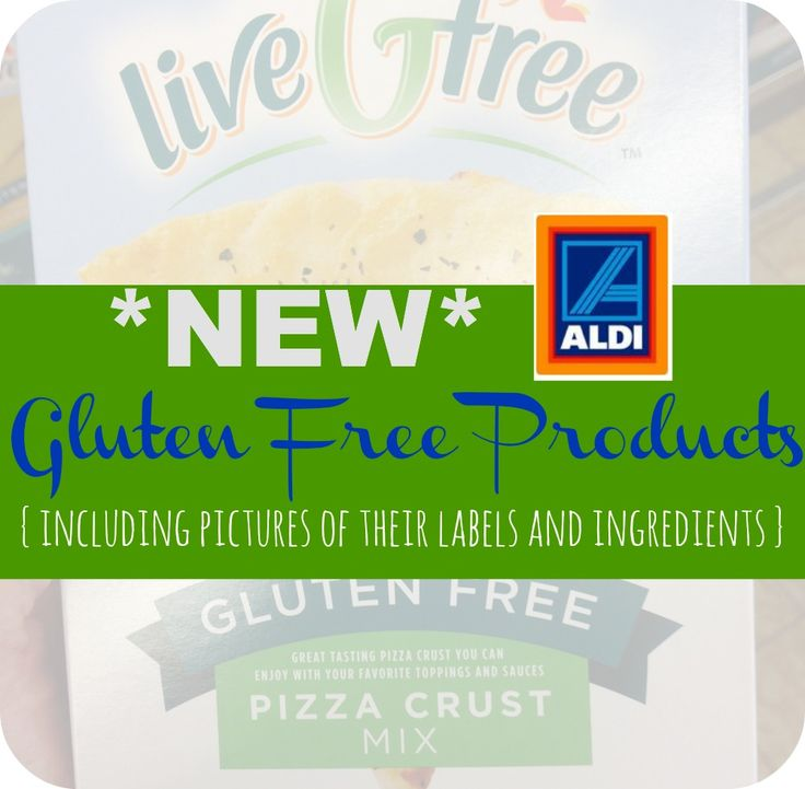 Aldi just started a new gluten free line of food here is a list of