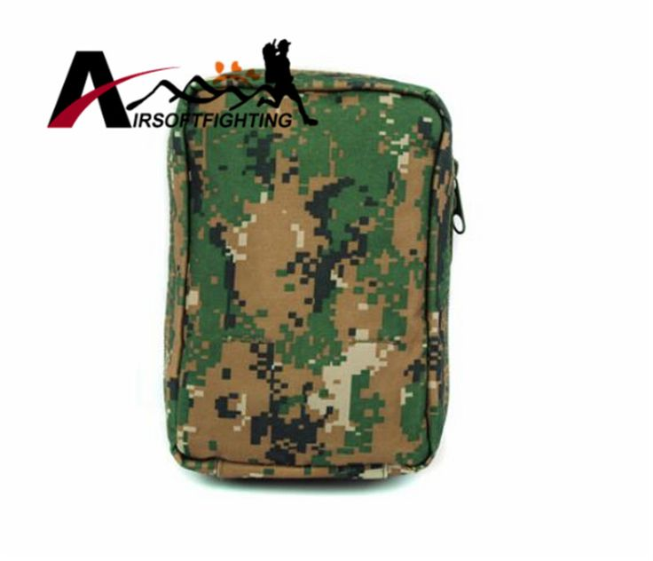 High Capacity Tactical Molle Dump First Aid Medical Pouch Bag Outdoor Military Hunting Hiking Portable Emergency Magazine Pouch
