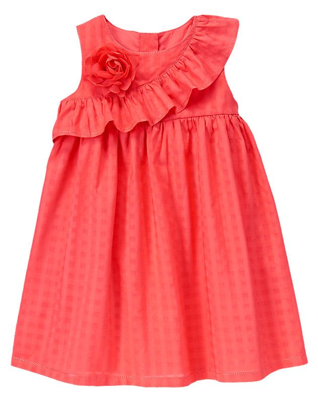 Gymboree Ruffle Corsage Dress