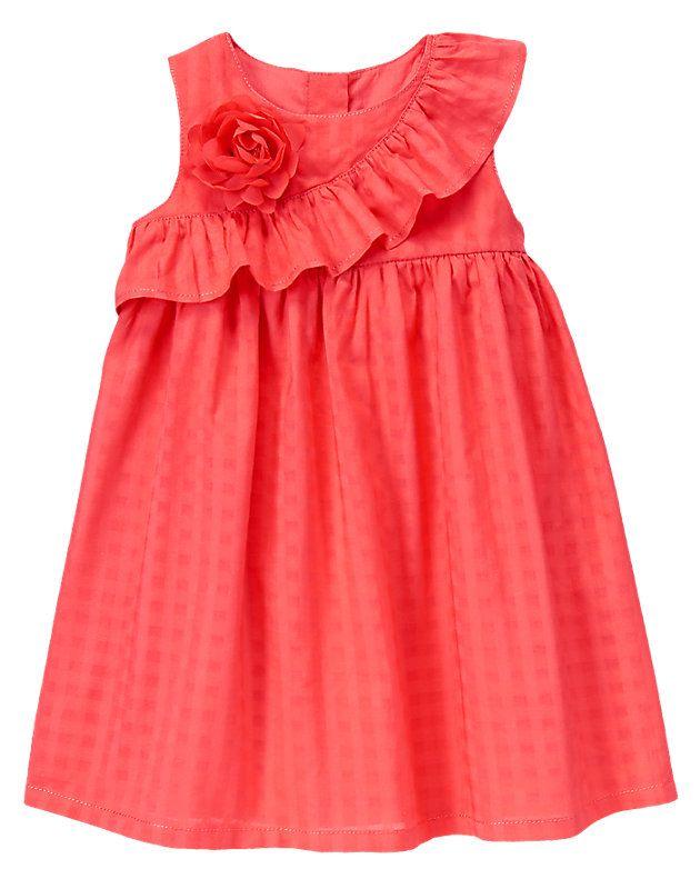 Gymboree Ruffle Corsage Dress