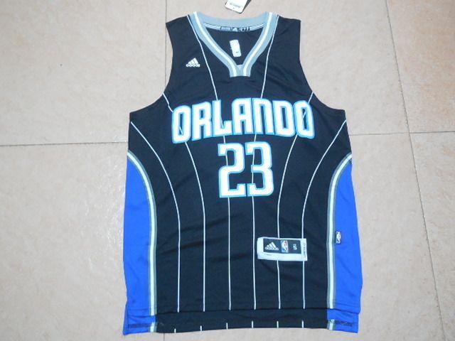 Men's NBA Orlando Magic #23 Mario Hezonja Black Jersey01