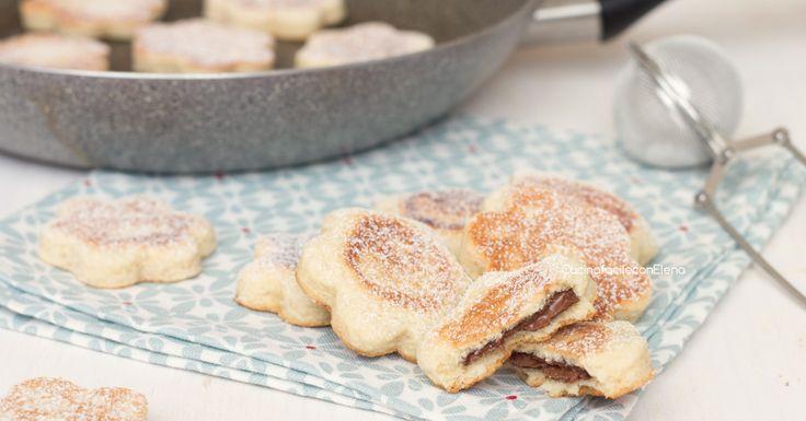 I biscotti in padella alla Nutella sono dei deliziosi biscottini che cuociono in padella, profumati, gustosi e con un ripieno morbido e cremoso, favolosi!
