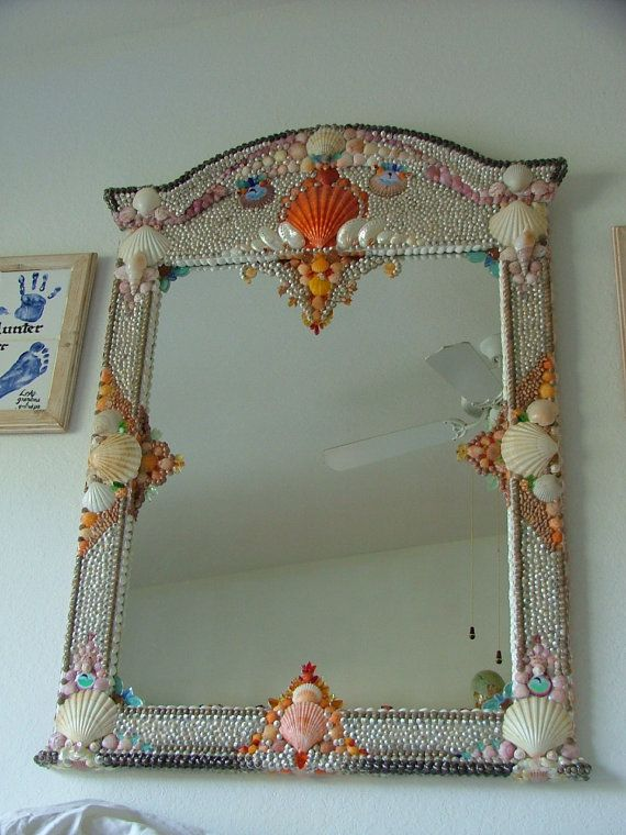 1000 ideas about shell mirrors on sea shell 14394