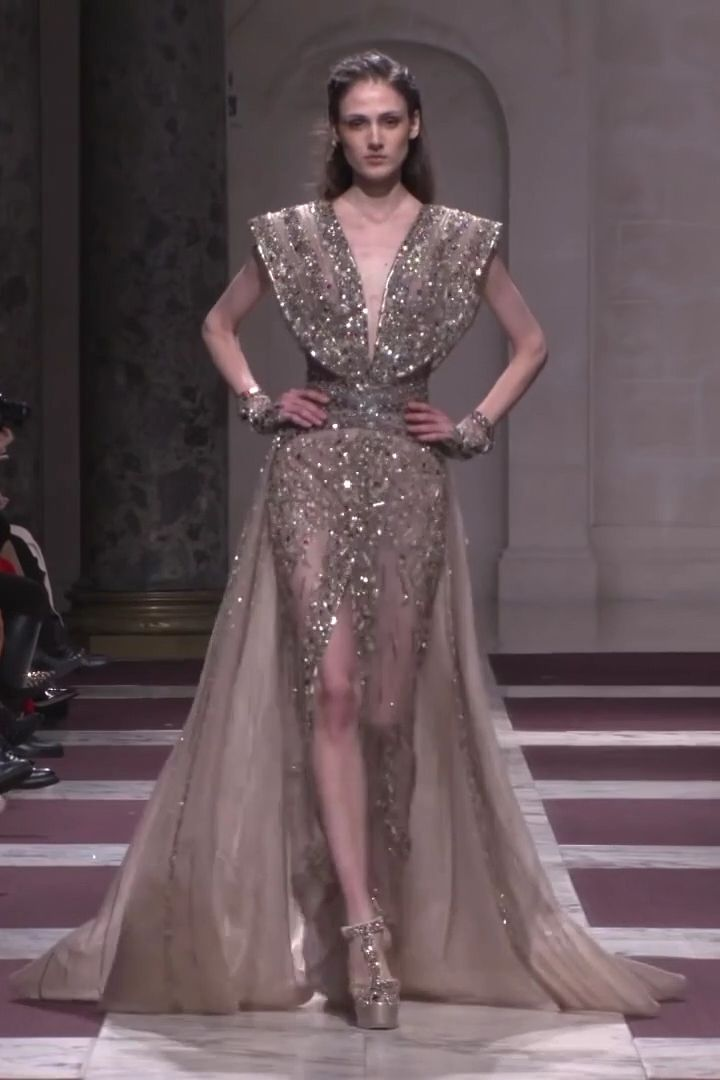 Ziad Nakad Look 26. Spring Summer 2019 Haute Couture Collection