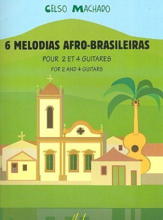 Nuotti. 6 melodias Afro-Brasileiras :  pour 2 et 4 guitares /  Celso Machado. Kitaraduoja. https://arsca.linneanet.fi/vwebv/holdingsInfo?sk=fi_FI&bibId=478062