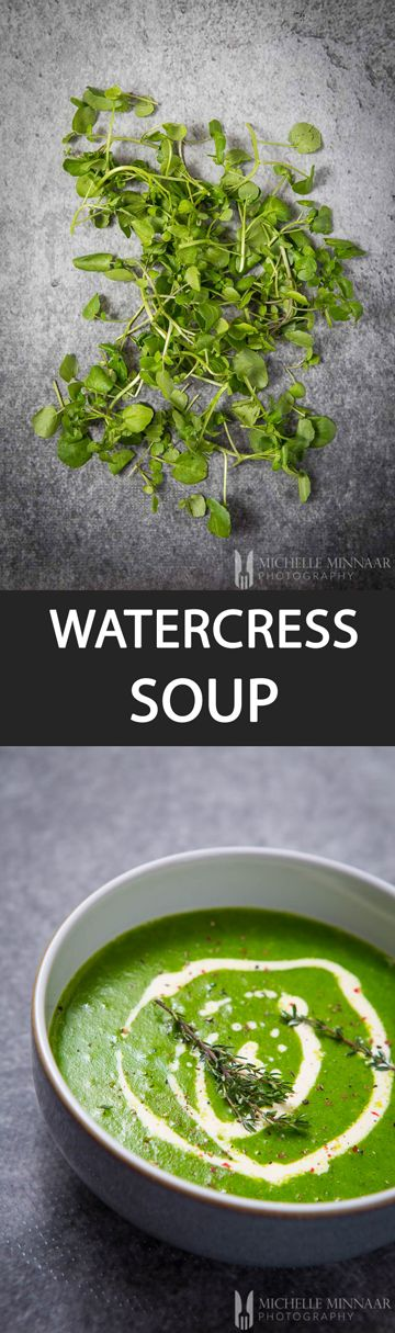Watercress Soup - {NEW RECIPE} Watercress soup is fantastic for anyone wishing to do a spring body cleansing or a detox to get their bodies ready for the summer. A vibrant green soup!
