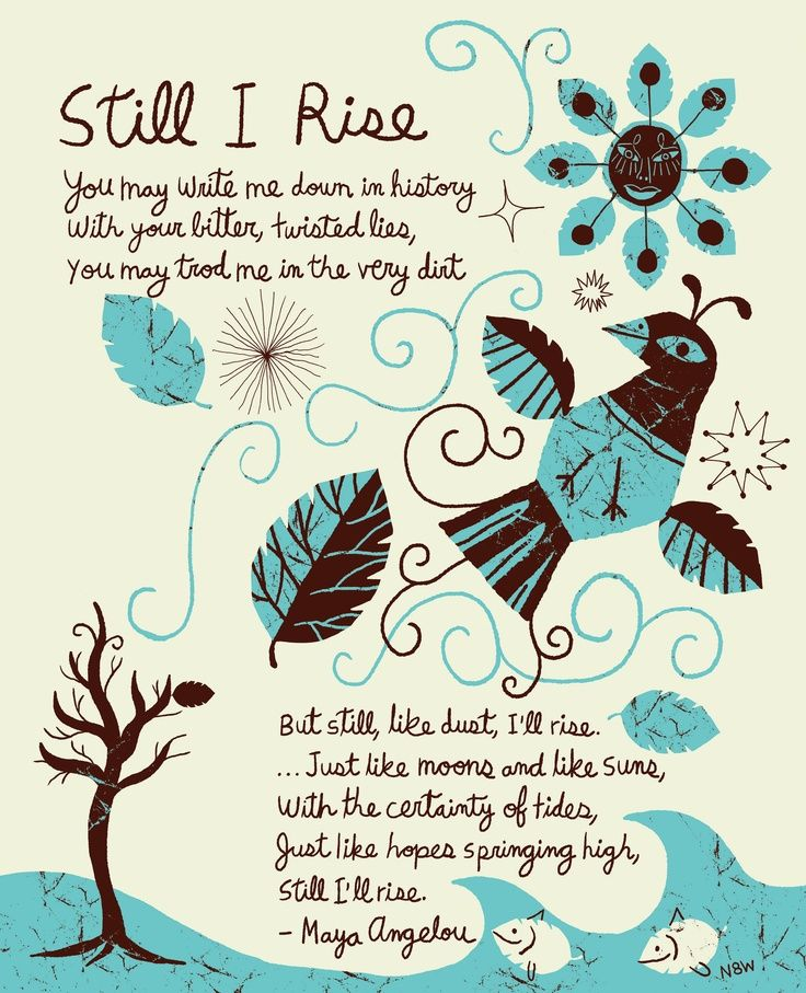 Still I Rise - A Poem by Maya Angelou