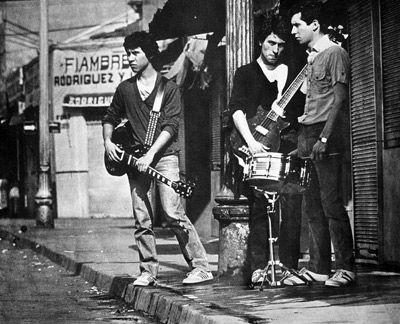 Los Prisioneros from Chile