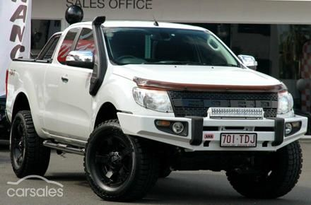 2013 Ford Ranger XLT PX Auto 4x4