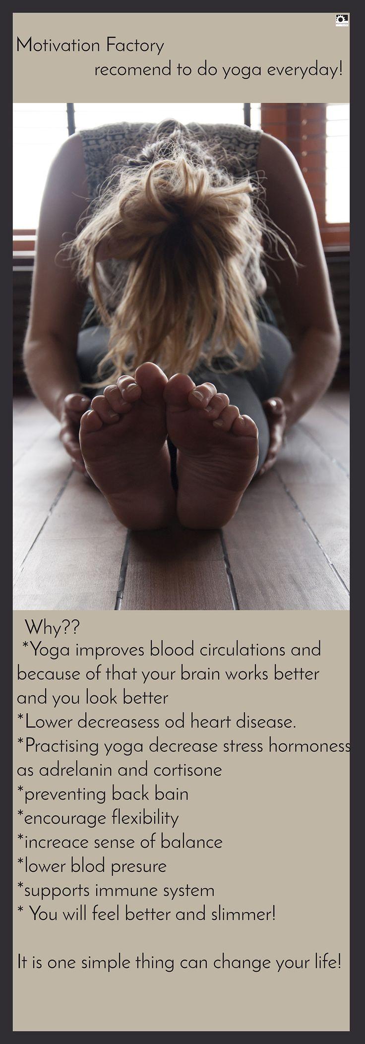 Rule # 3 - Do Yoga. maybe it is so crear, but check why! // Ćwicz jogę codziennie i choć to może takie oczywiste wiesz dlaczego?  -Joga pomoga w cyrkuracji krwi a to spowoduje , że twój mózg będzie lepiej pracował i a ty będziesz wyglądać lepiej -Zmniejsza poziomy hormonów stresu -Będzie zapobiegać bólowi pleców -poprawi twoją elastyczność -poprawi zmysł równowagi -wyreguluje ciśnienie -wspomoże system odpornościowy -Dzięki jodze będziesz czuć się lepiej i wyglądać szczuplej…