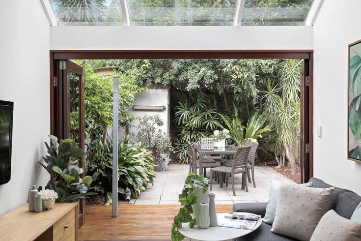 Got to love a view like this - it's indoor/outdoor living at its finest!
