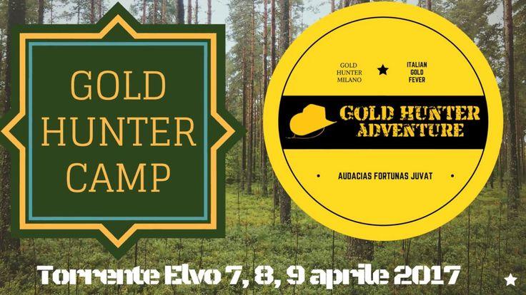 Cercatori d'oro sull'Elvo. Gold Hunter Camp intro.