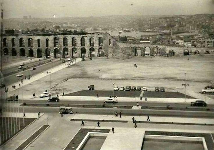 1960'lı yıllarda Saraçhane