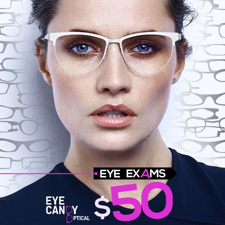 $50 Comprehensive Eye Exam!!! $99 Glasses and Contact Lens Exam! Most National Vision Insurance plans are accepted (440) 250-9191 www.eye-candy-optical.com